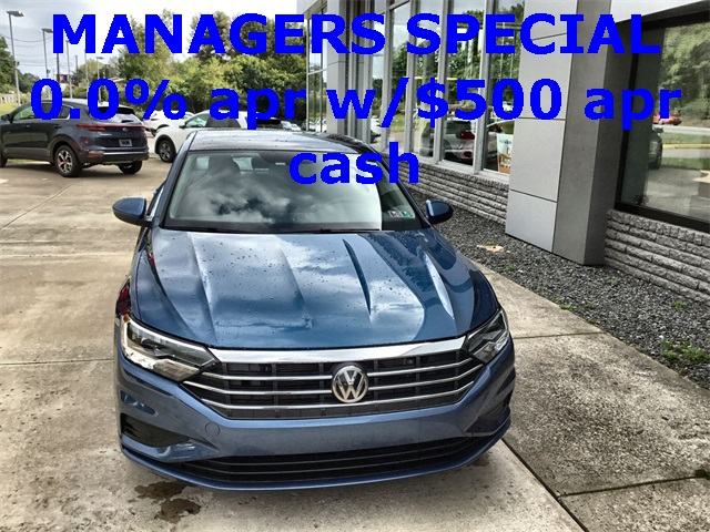 New 2020 Volkswagen Jetta SE FWD 4D Sedan